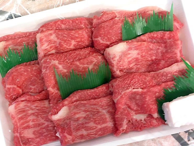 お歳暮ランキング4位神戸牛もも・バラすき焼き用