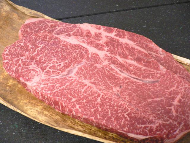 神戸牛ももステーキ