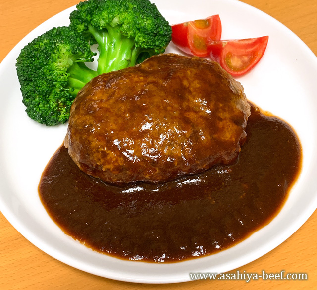 神戸牛デミグラスハンバーグ