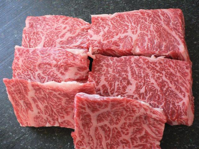 神戸牛カルビ焼肉