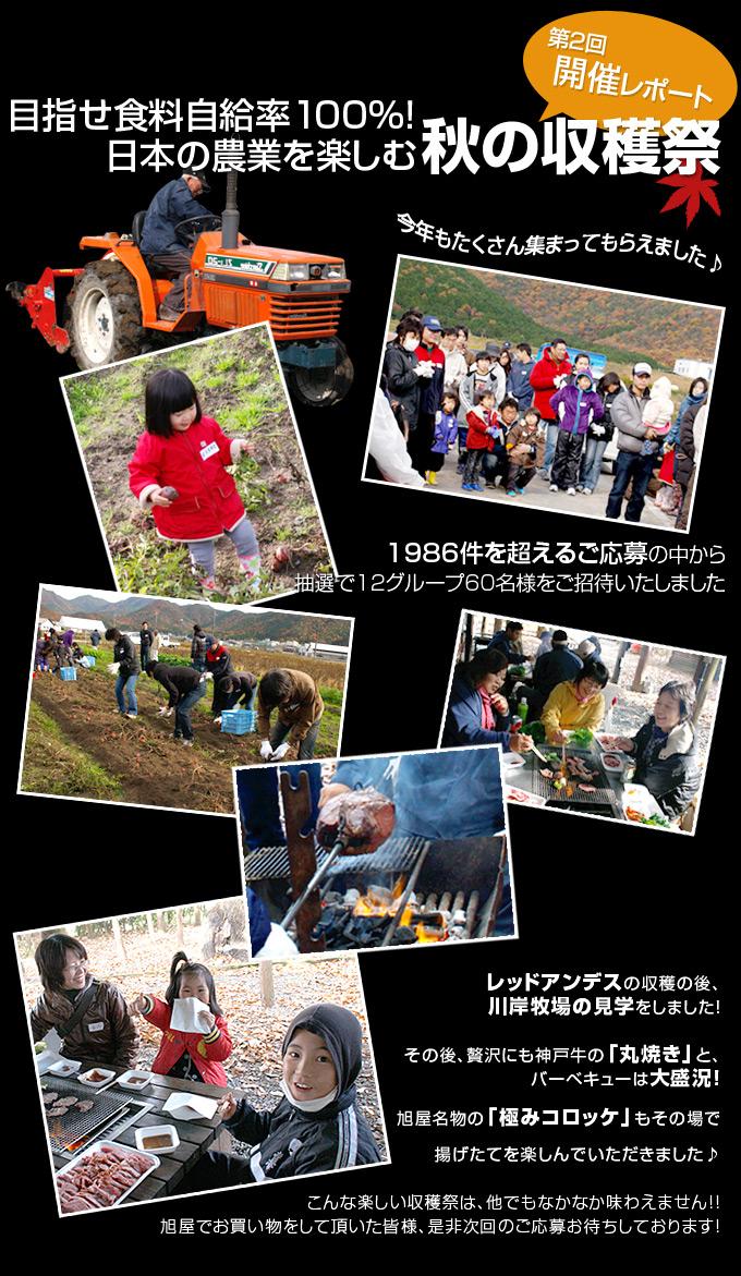 第2回「目指せ食料自給率100%!日本の農業を楽しむ秋の収穫祭」
