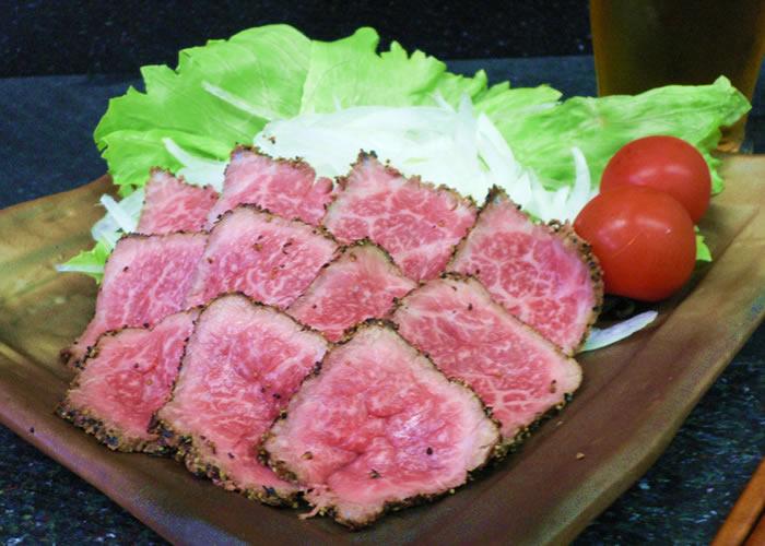 神戸牛 特選たたき風レアステーキ
