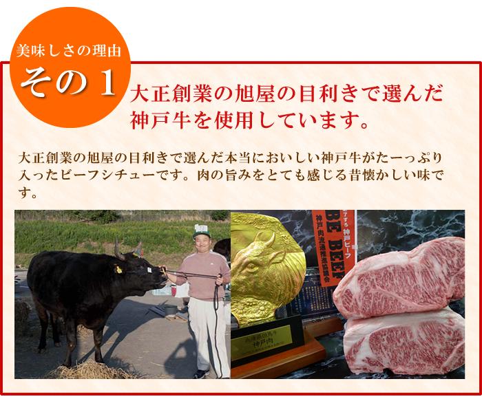 【単品】プレミア神戸牛・神戸ビーフシチュー