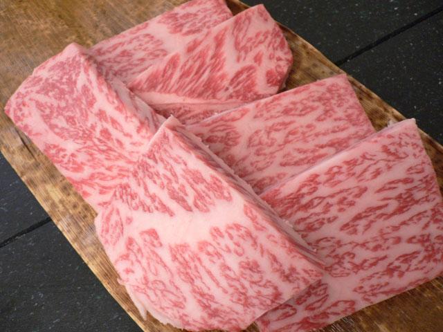 【A4・A5去勢牛】神戸牛焼肉用リブロース300g【冷凍発送限定】
